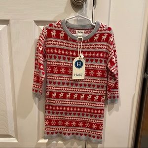 Hatley Winter Sweater Dress toddler girl size 4T